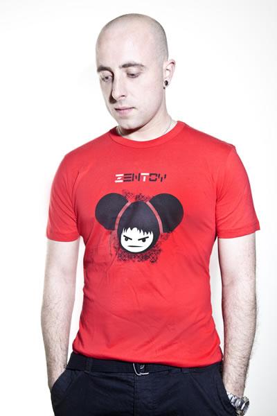 ZenToy - Man rood T-Shirt